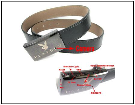 Spy Secret Belt Camera