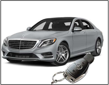 Fake Mercedes Car Remote Camera