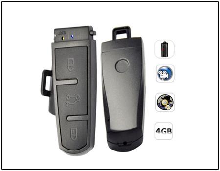 Spy Keychain Camera With Password