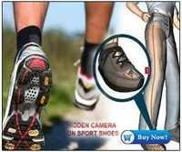 Spy Hidden Camera In Sports Shoes