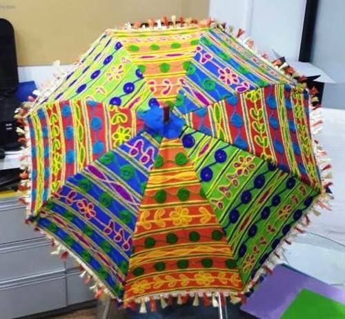 Rajasthani Fancy Umbrella - Embroidery