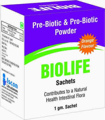 Prebiotic and Probiotic Powder