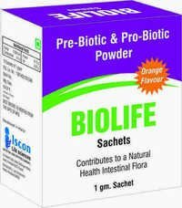 Prebiotic and Probiotic Powder
