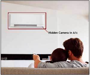 Spy Camera In Air Conditioner