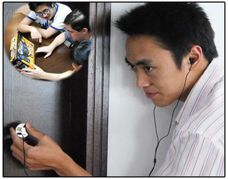 Spy Wall Listening Device