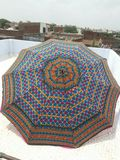 Rajasthani Embroidery Garden Umbrella