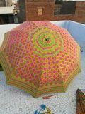 Rajasthani Embroidery Garden Umbrella