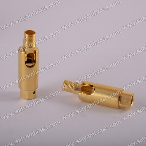 Brass Adjustable Friction Swivel