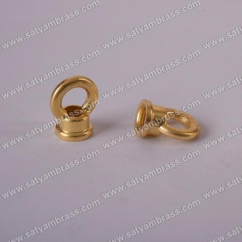 Brass Threaded Light Chandelier Loops