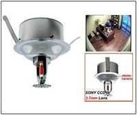 SPY CAMERA IN FIRE SPRINKLER 700TVL COLOR CAMERA
