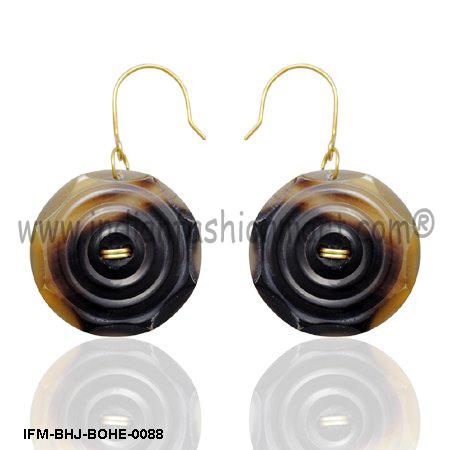 Mojo Power  - Horn Earrings