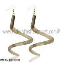 Fayre Twist -Horn  Earrings