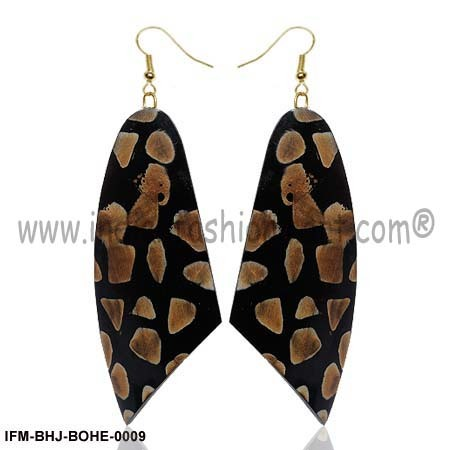 Stygian Glamour -  Horn Earrings