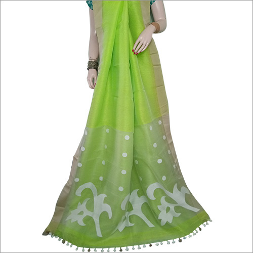 Resoiam Linen Jamdani Saree