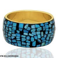Aqua  Chips - Bone Bangle