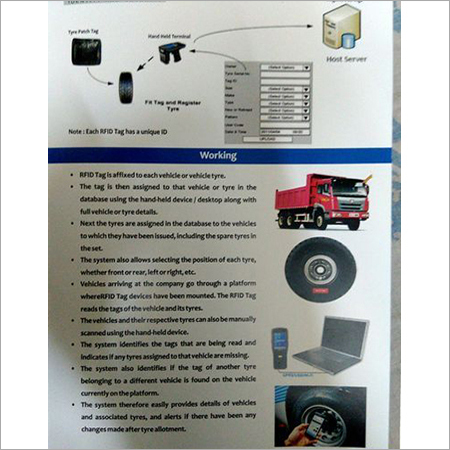 Truck Tyre Tracking System