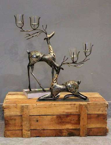 Metal Deer Decorative