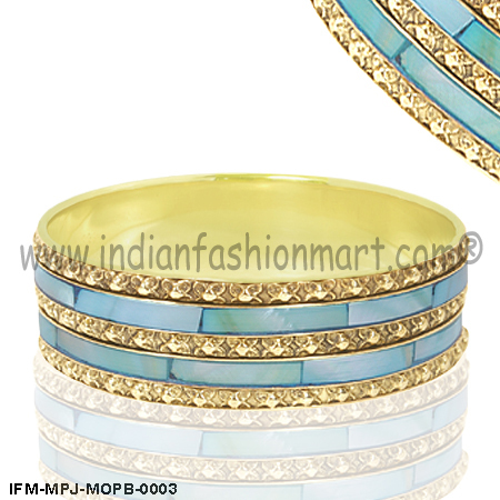 Panache Contessa   - Mother of Pearl Bangle