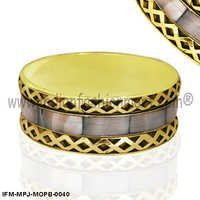 Zorya Incandescence -Mother of Pearl Bangle