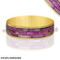 Glorious Nereid - Mother of Pearl Bangle