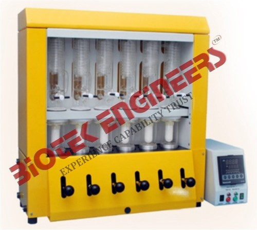 Soxhlet Extraction Fat Analyser