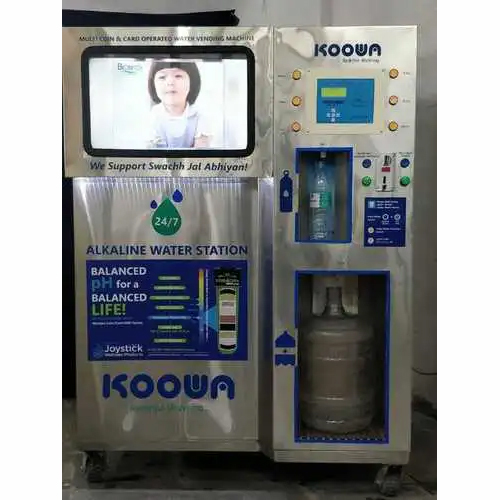 Coin And Card Operated Water Vending Machines