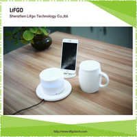 wireless charge mug