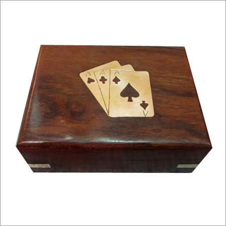 Playing Card Wooden Boxes
