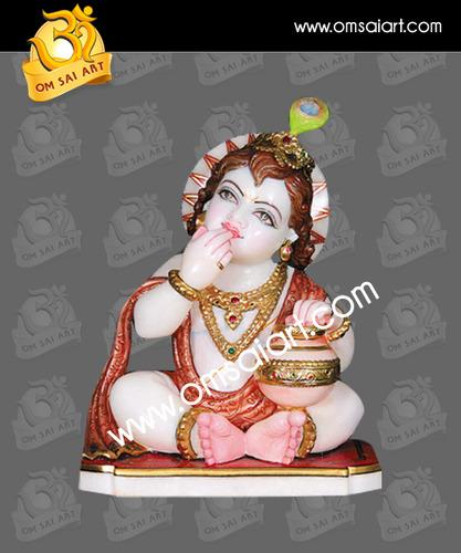 Marble Kanha Statue