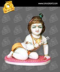 Lord Bal Gopal Marble Statue