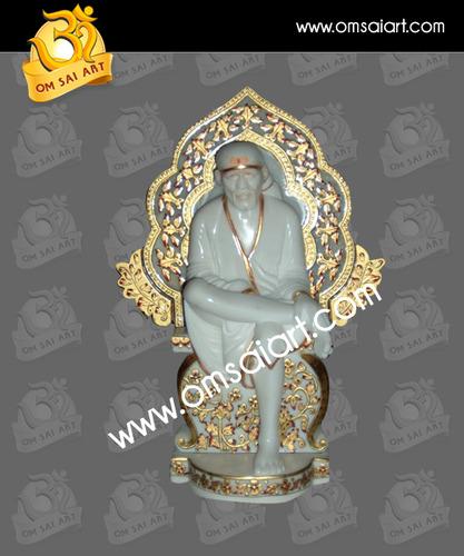 Sai Baba Singhasan Statue