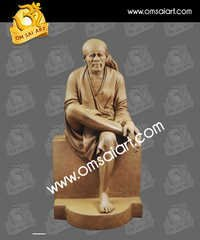 Clay Statue Of Sai Baba