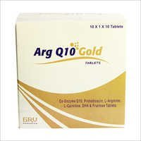 Arg Q 10 Gold Tablets