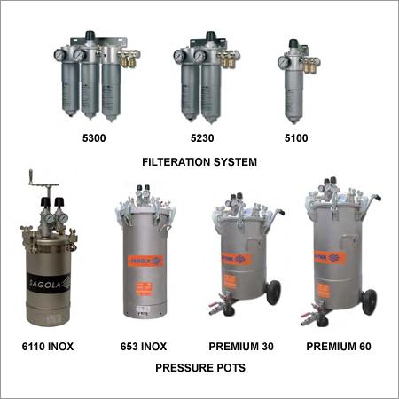 Pressure Pots & Pneumatic Mixers