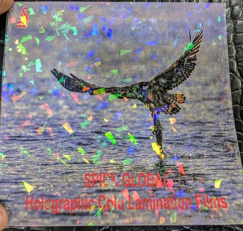 Holographic Transparent Thermal Lamination Film