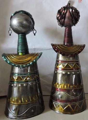 Metal Man Women Decorative Pieces