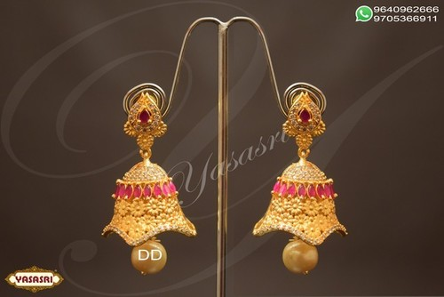 Cz Traditional Earrings