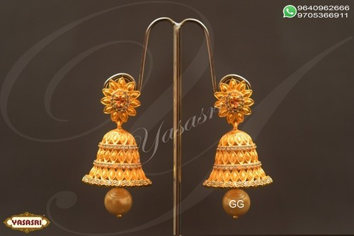 Cz Traditional Earrings
