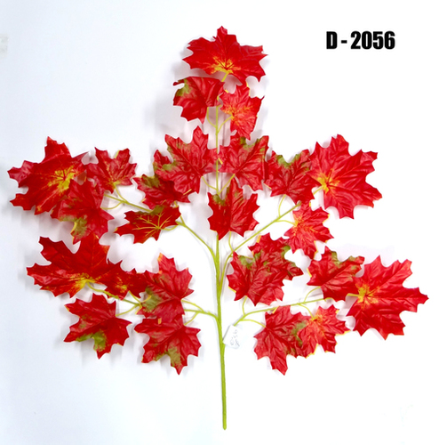 Artificial Red Maple Spray 5 Branch