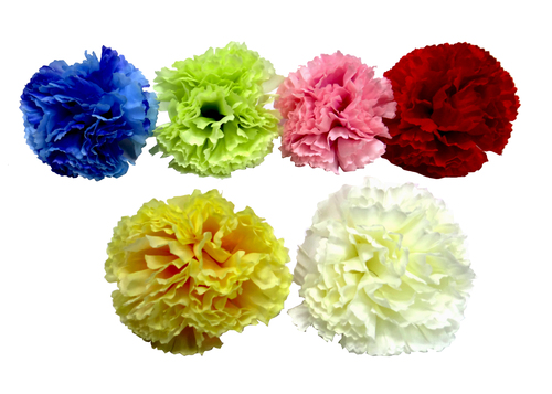 Carnation Small 6 Leaf Artificial Flower