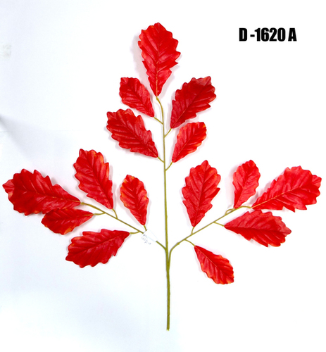 Artificial Red Amrit Leaf Spray