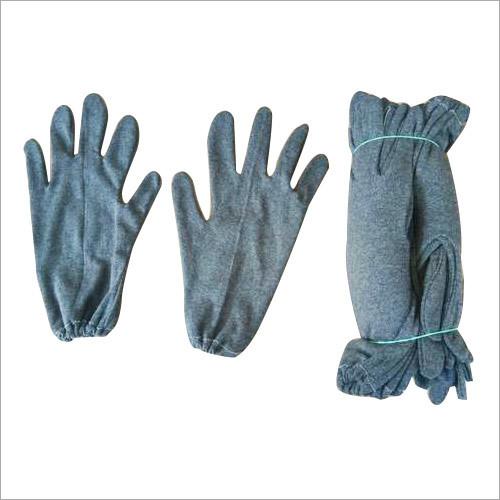 Melange Hosiery Gloves