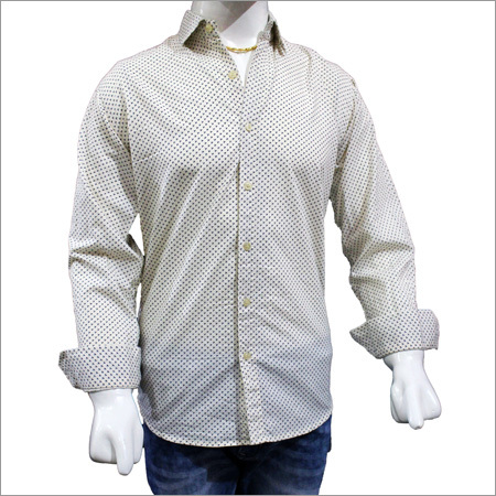 Mens Cotton Print Shirts