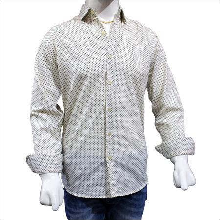 Mens Cotton Print Shirts