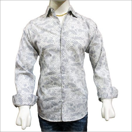 Mens Cotton Printed Shirts