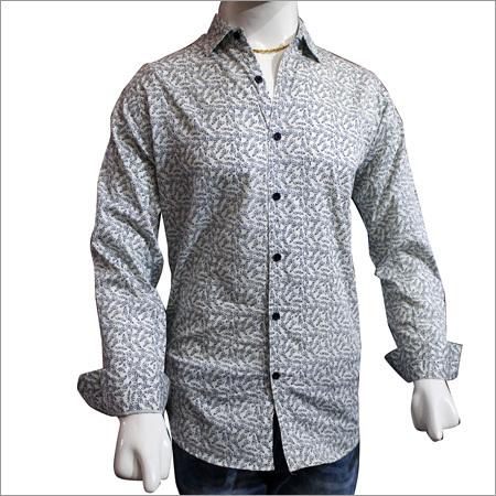 Gents Fancy Cotton Print Shirts