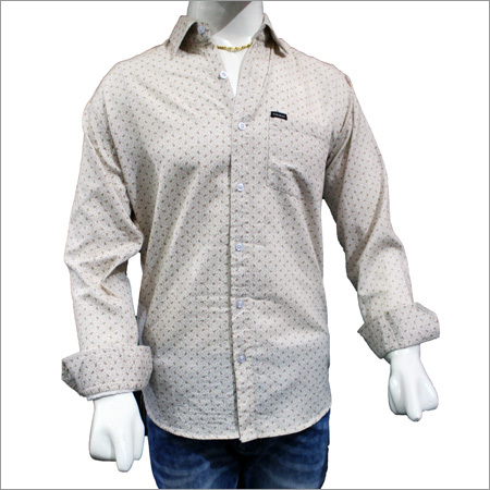 Mens Trendy Cotton Print Shirts