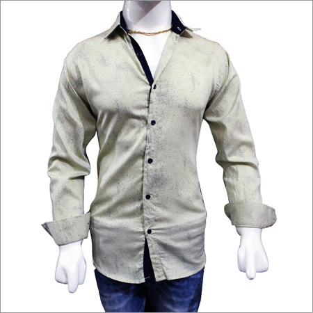 Designer Satin Print Shirts