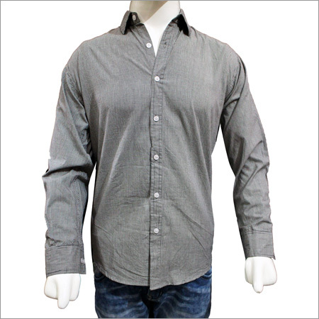 Mens Solid Plain Cotton Shirts