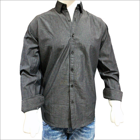 Gents Solid Plain Cotton Shirts
